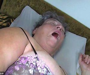 Old chubby mom teaches..
