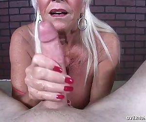 Old Lady POV Jerking -..