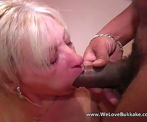 Older mature wife does..