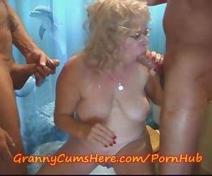 Granny is a BATHROOM..