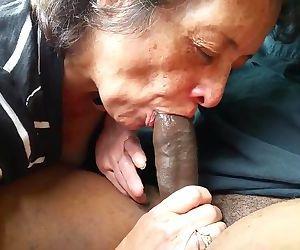 Granny Sucking Black..