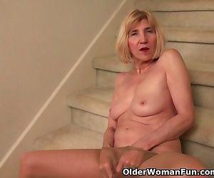 Skinny grandma Bossy..