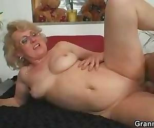 She enjoys fresh cock..