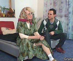 He bangs old widow hard..
