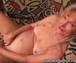 Granny Claire fucks..