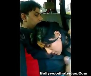 Desi Couple Enjoying In..