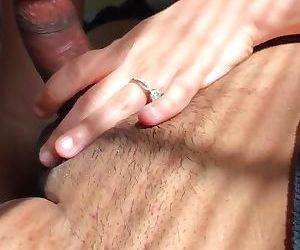 Anal quickie before work