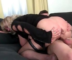 Big titted Mommy Fucks..