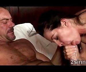 Horny MILF devours..