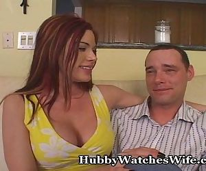Hubby Explains Watching..