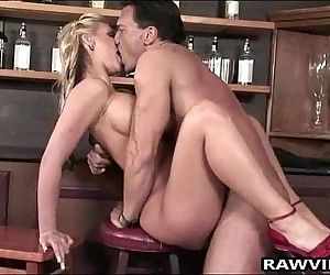 Raw Anal For Busty Blonde
