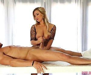 Cock Milking techniques..