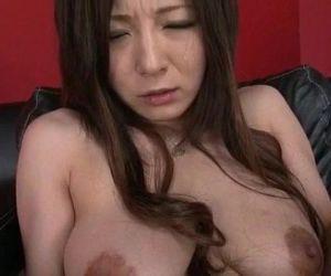 Big tits Ayami tries..