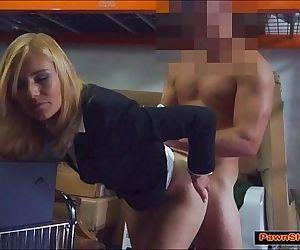 Blonde MILF Pawnshop..