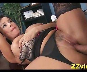 Lisa Ann office fuck