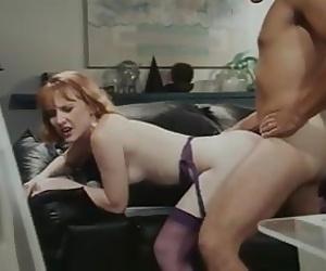 Sexy Redhead in Purple..