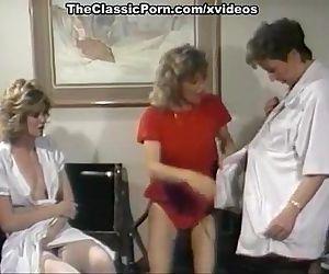 Three nurse plunge in..