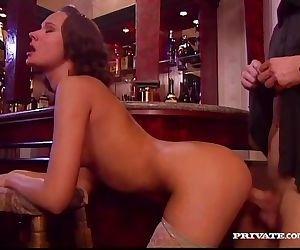 Wanda fucks in a bar
