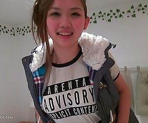 Cute Asian teen..