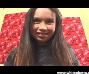 Asian Teen with Braces..