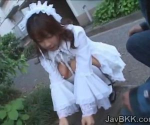 Innocent Japanese teen..