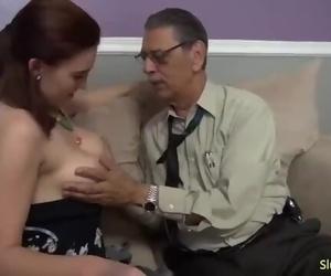 Cum inside me Grandpa