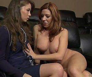 Capri Anderson and Lexi..